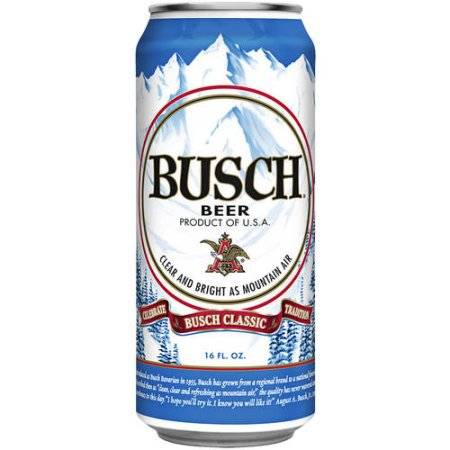 Busch - Beer - 16oz Can