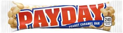 Payday - Peanut Caramel Bar - 1.85oz (52g)