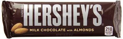 Hershey's - Milk Chocolate with Almonds - 1.45oz (41g)