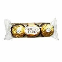 Ferrero Rocher - Fine Hazelnut Chocolate - 1.3oz (38g)