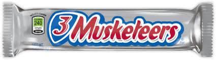 3 Musketeers - Chocolate - 1.92oz (54.4g)