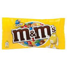 M&M's - Peanuts Chocolate Candies - 1.74oz (49.3g)