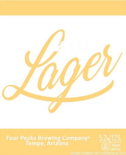 Four Peaks - Golden Lager - 12oz. - 6 pack bottle