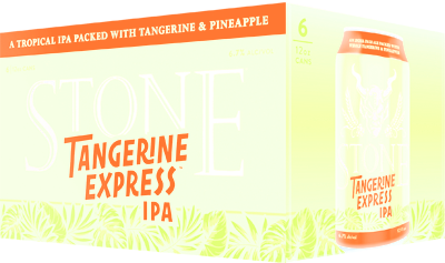 Stone Tangerine Express - 12 oz - 6 pack can