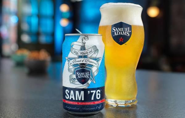 Samuel Adams 76 - 12oz. - 6 pack can