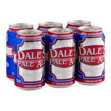 Dale's Pale Ale - Oskar Blues - 12oz. - 6 pack can
