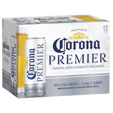 Corona Premier - Beer - 12oz - 12 pack bottle