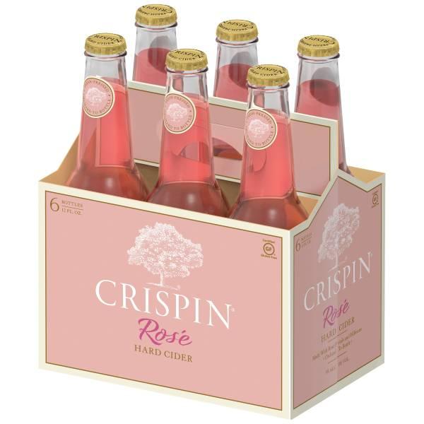 Crispin Rosé - Hard Cider - 6 pack bottle