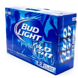 Bud Light - Beer - 8oz Can - 24 Pack