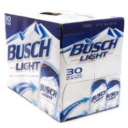 Busch Light - Beer - 12oz Cans - 30 Pack