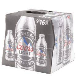 Coors - Light Beer - 16oz Aluminum...