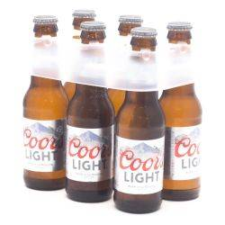 Coors - Light Beer - 7oz Bottle - 6 Pack
