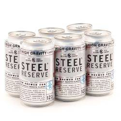 Steel Reserve - 12oz Can - 6 Pack