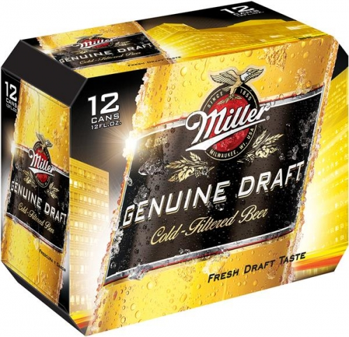 Miller Genuine Draft - Beer - 12oz...