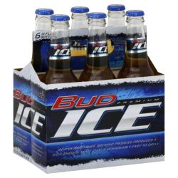 Bud Ice - Beer - 12oz Bottle - 6 Pack