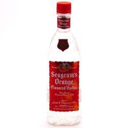 SEAGRAM'S ORANGE VODKA 375ml