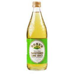 Rose's - Sweetened Lime Juice - 1L