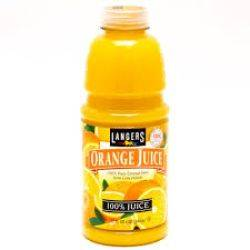 Langers Orange Juice - 32 Oz.