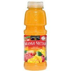 Langers Mango Nectar Juice - 16oz.