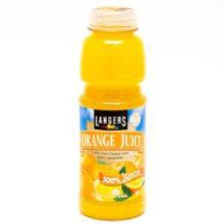 Langers Orange Juice 16oz.