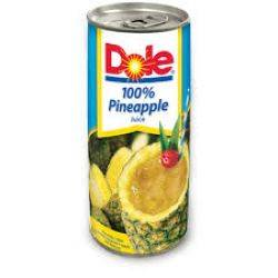 Dole 100% Pineapple Juice 8.4 oz
