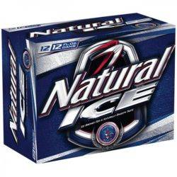 Natural Ice - Beer - 12oz can - 12 pack