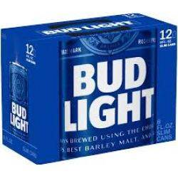 Bud Light - Beer - 12oz can - 12 pack