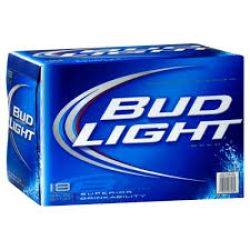 Bud Light - Beer - 12oz. can - 18 pack