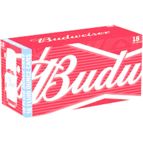 Budwiser - Beer - 12oz. can - 18 pack