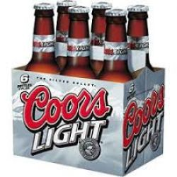 Coors Light - Beer - 12oz Bottle - 6...