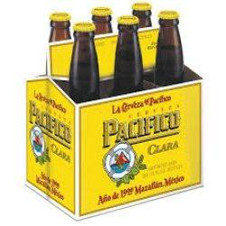 Pacifico Clara - 12oz. bottle - 6 pack