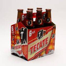 Tecate - Beer - 12oz. Bottle - 6 pack