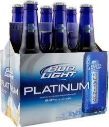Bud Light - Platinum Beer - 12oz....