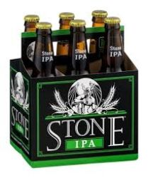 Stone - IPA- Beer - 12oz. bottle - 6...