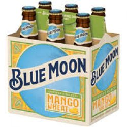 Blue Moon - Mango Wheat - 12oz bottle...