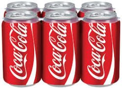 Coca Cola - Soda - 6 Pack Cans