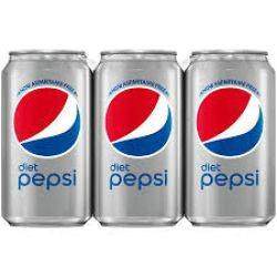 Pepsi Diet - Soda - 6 Pack Cans
