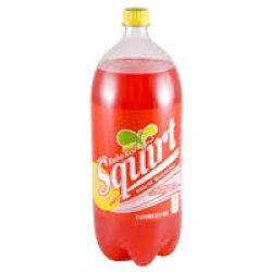 Ruby Red Squirt - Soda - 2 Liters