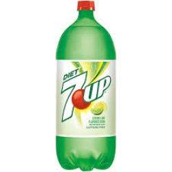 7 up Diet - Soda - 2 Liters