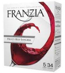 FRANZIA FRUITY RED SANGRIA 5L