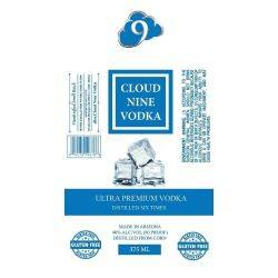 Cloud Nine Vodka - 375mL