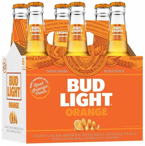 Bud Light Orange - 6 Pack 12oz Bottles