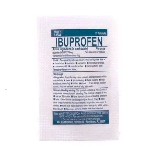 Ibuprofen - 2 tablets