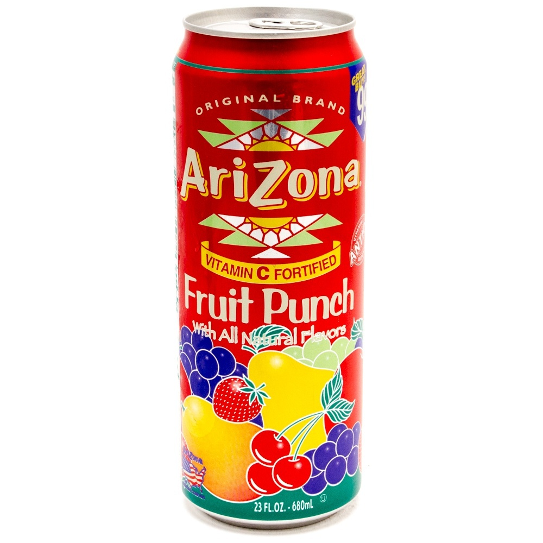 Arizona - Fruit Punch - 23oz Can