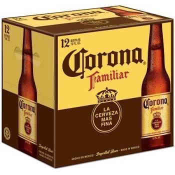 Corona Familiar - 12 Pack 12oz Bottles