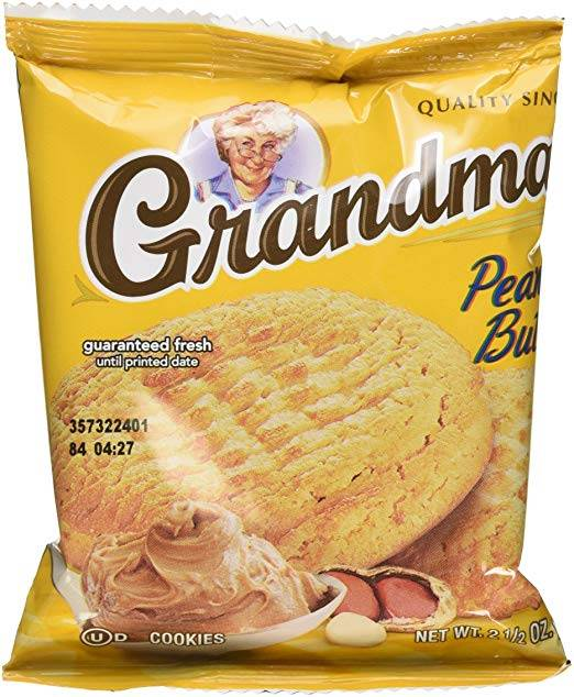Grandma's Cookies - Peanut Butter - 2 Count