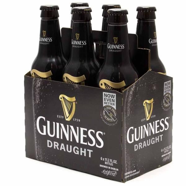Guinness - Draught - 6 Pack 11.2oz Bottles