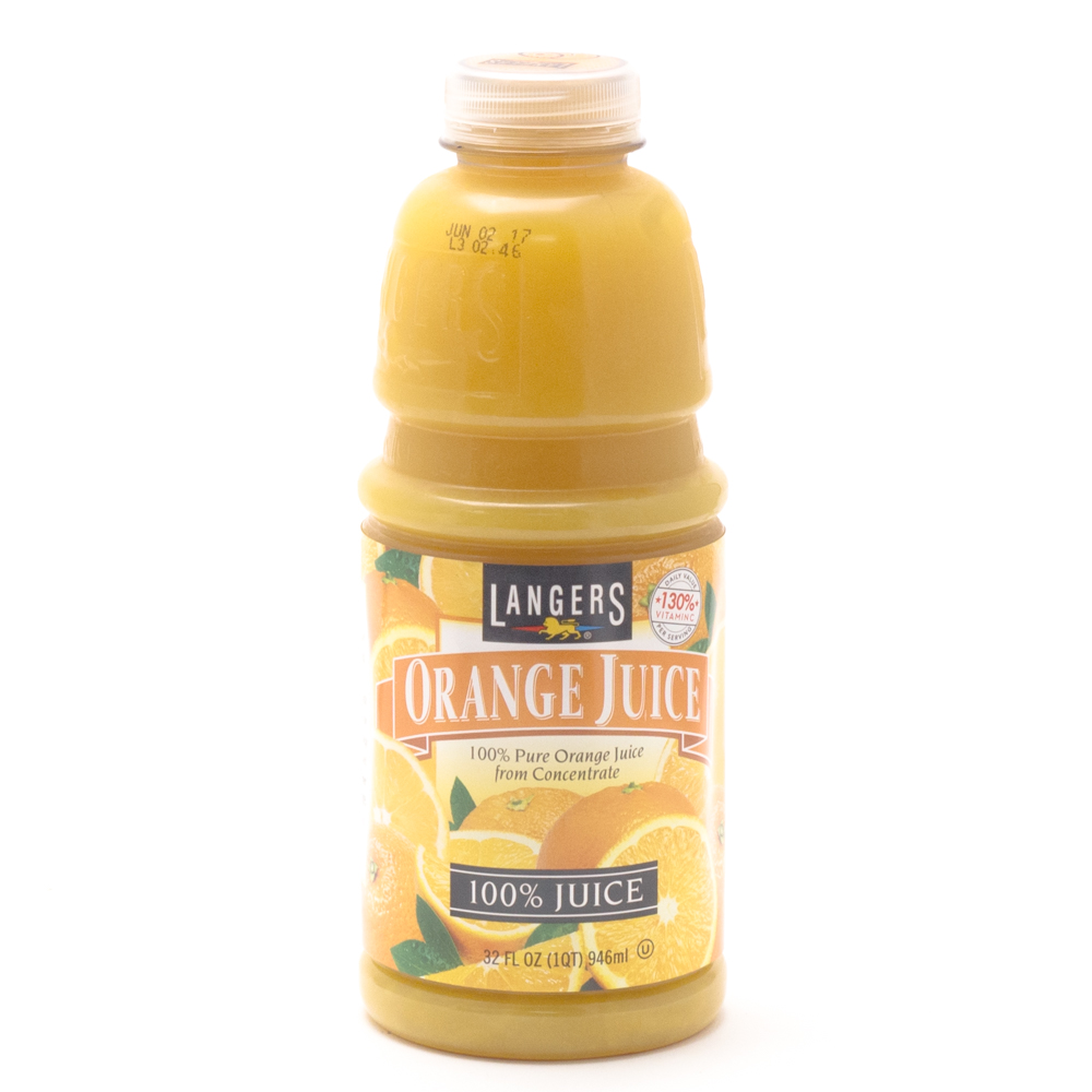Langers - Orange Juice - 32oz