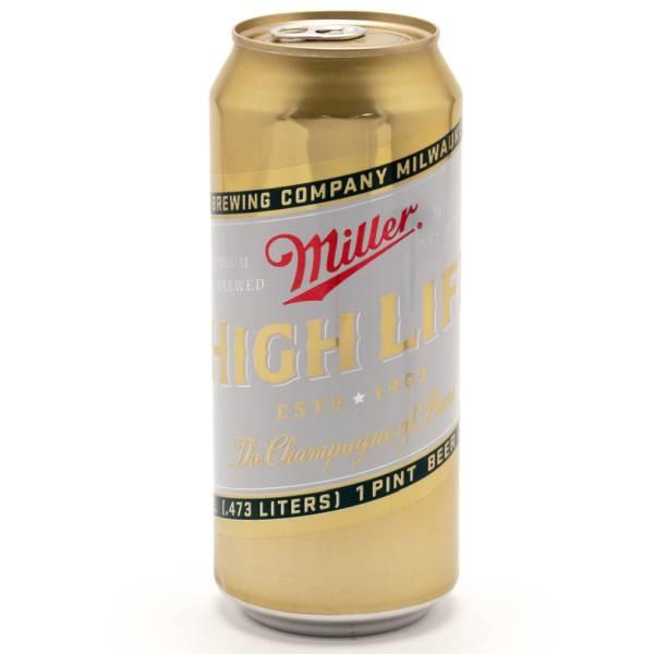 Miller High Life - 4 Pack 16oz Cans