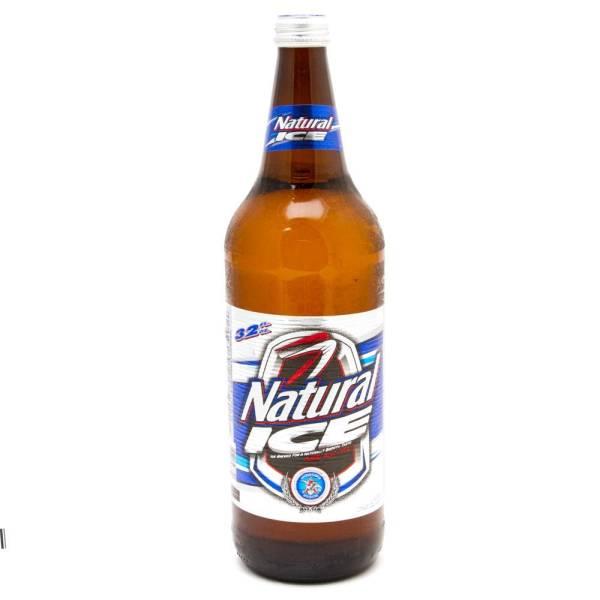 Natural Ice - 32oz Bottle